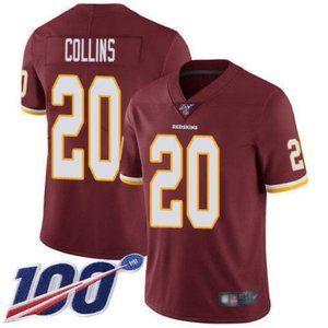Washington Redskins Landon Collins 100th Jersey
